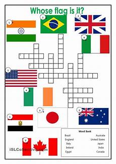 speaking countries free worksheets 18626 country flags crossword esl worksheets of the day activities articles