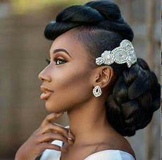 Black Wedding Updo Hairstyles