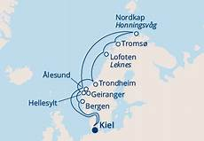 Costa Pacifica Norwegen Fjorde Nordkap 2019