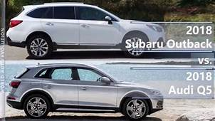 2018 Subaru Outback Vs Audi Q5 Technical Comparison