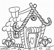 get this printable gingerbread house coloring pages