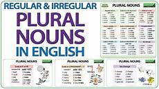 plural nouns in english regular irregular plurals