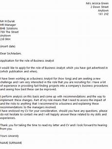 business analyst cover letter exle icover org uk