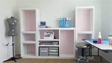 diy craft room wall storage organizer unit furniture