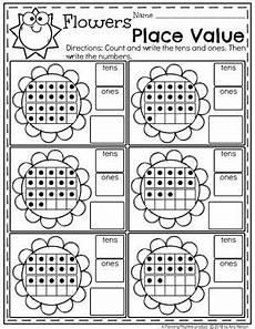 place value worksheets kindergarten worksheets place