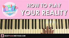 how to play literature club your reality piano tutorial lesson youtube