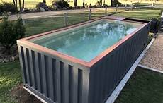 shipping cargo container swimming pools usa conexwest