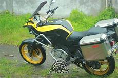 Vixion Modifikasi Touring by Modifikasi Yamaha New Vixion Jadi Supermoto Keren 2016
