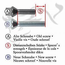 spurverbreiterung set 10mm inkl radschrauben passend f 252 r