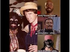 jimmy kimmel comedian blackface