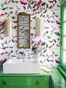 funky bathroom wallpaper ideas tiny but chic 3 easy ideas for small bathrooms flourishmentary