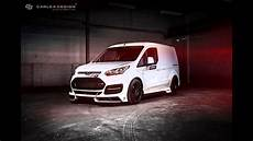 dia show tuning ford transit connect m sport by carlex