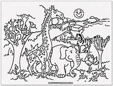 jungle animals coloring pages for kindergarten 17049 jungle coloring pages at getcolorings free printable colorings pages to print and color
