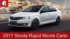 2017 Skoda Rapid Monte Carlo Special Edition Launch In