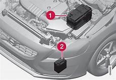 start stop batterie wechseln battery start stop engine compartment maintenance