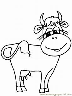 coloring pages cow mammals gt cow free printable