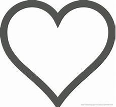 Ausmalbilder Herz Und Herz Malen Vorlage