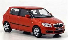 skoda fabia ii orange abrex modellauto 1 43 kaufen