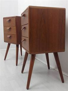 details about teak bedside tables retro 50 s 60 s retro desire bedroom furniture with
