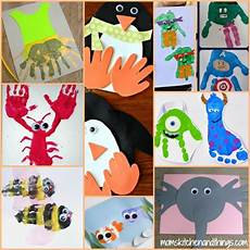 5 hand print activities to do with your 1 year old 20 handprint crafts for kids mom s kitchen and things
