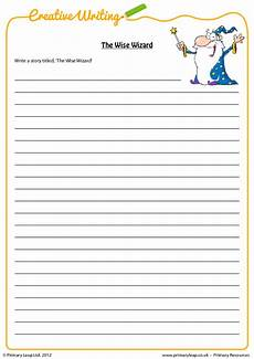 story writing worksheets for grade 5 22944 creative writing the wise wizard