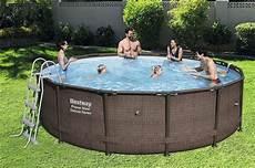 bestway kit piscine power steel deluxe series 427 x 107 cm