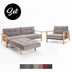 splitback frej sofa und sessel g 252 nstig im set kaufen buerado
