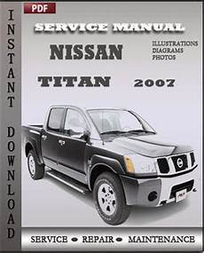 manual repair autos 2007 nissan titan user handbook nissan titan 2007 free download pdf repair service manual pdf