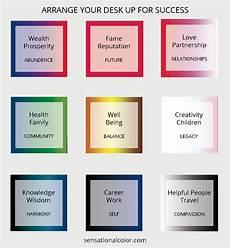 feng shui your desk for success sensational color