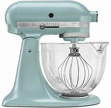 Mixer Glass Bowl by New Kitchenaid Azure Blue Tilt Artisan Stand Mixer 5 Qt