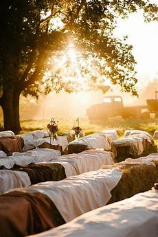 30 ways to use hay bales at your country wedding deer