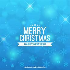 merry christmas light blue background free vector