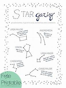 constellation chart worksheet pin on family time ideas