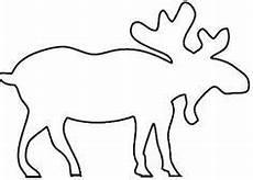 Kostenlose Malvorlagen Elch Elch Malvorlage 01 Weihnachten Basteln Vorlagen
