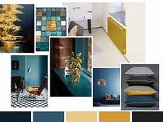 blau und gelb kombinieren farbe petrol und goldocker verstehen sich gut concept