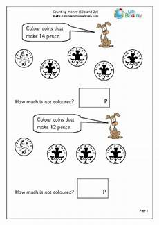 money worksheets to 10p 2342 counting money 10p and 2p money maths worksheets for year 1 age 5 6