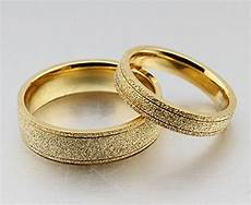 the new titanium steel plated 18k gold wedding rings