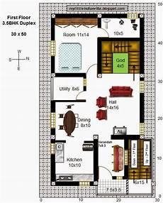 30x50 3bhk house plan 1500sqft little house plans north facing building plans for indian house duplex