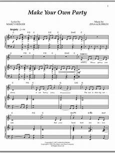 make your own party sheet music direct