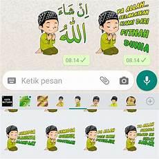 27 Ini Stiker Wa Islami Terbaru Lokerstiker