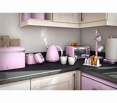 Pink Kitchen Canisters Uk by Buy Swan Retro Bread Bin Pink Free Delivery Currys