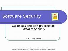 security software software security