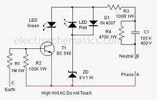 ground fault indicator tester wiring diagram earth fault indicator circuit