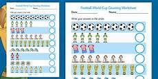 sports worksheets ks2 15817 football world cup counting worksheet made