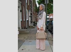 hijab fashion, wide leg pants, zara, austere attire hijab