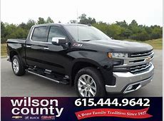 New 2019 Chevrolet Silverado 1500 LTZ 4D Crew Cab in