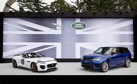Jaguar Land Rover Debuts Three New Models At Pebble Beach