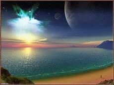 gambar animasi ombak laut gelombang air di pasir pantai