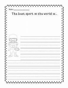 sports handwriting worksheets 15804 sports themed persuasive writing organizer and worksheet tpt