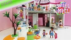 shopping center playmobil aufbau und erste demo des